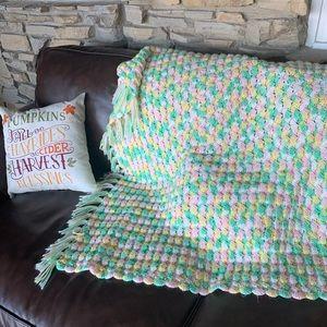 Blanket Throw Afghan 36x36